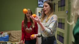 Juggling at Party