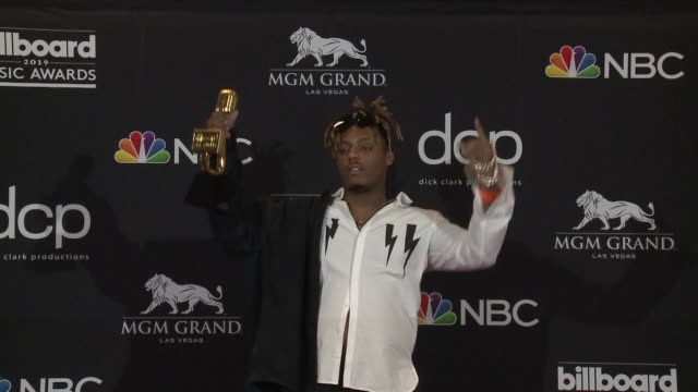 juice wrld at mgm grand garden arena on may 01 2019 in las vegas nevada - mgm grand garden arena stock videos & royalty-free footage