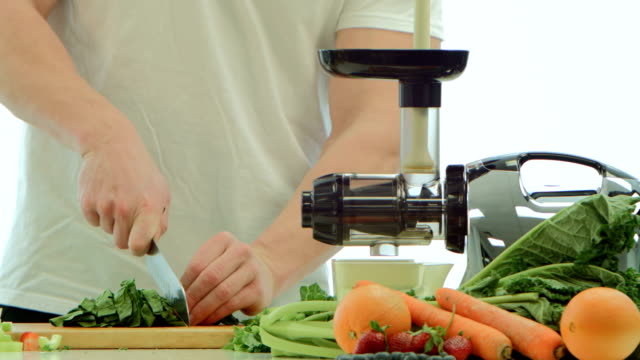 juicing - celery stock videos and b-roll footage