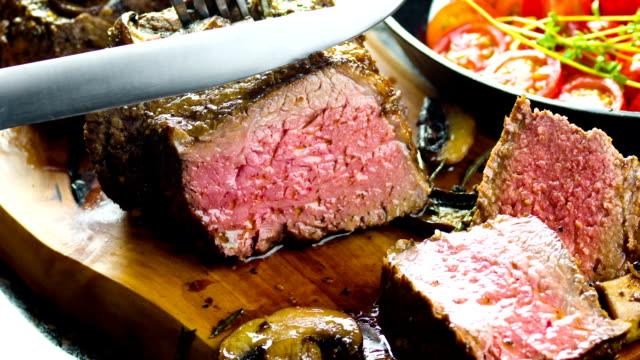 Saftig stek