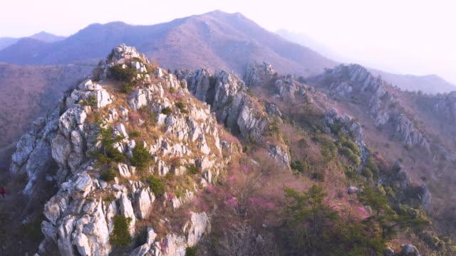 jujaksan mountain / gangjin-gun, jeollanam-do, south korea - jeollanam do stock videos & royalty-free footage