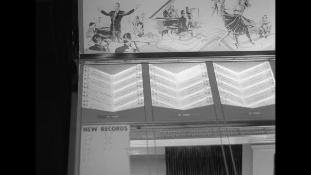 1962 jukebox playing - jukebox stock videos & royalty-free footage
