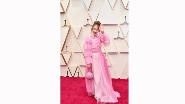 julia butters attends the 92nd annual academy awards at hollywood and highland on february 09, 2020 in hollywood, california. - academy awards stock videos & royalty-free footage