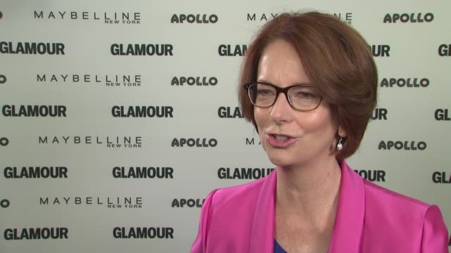 interview julia gillard discusses why she thinks the education of girls is one of the most important and pressing issues of our time at glamour's the... - special education stock videos & royalty-free footage