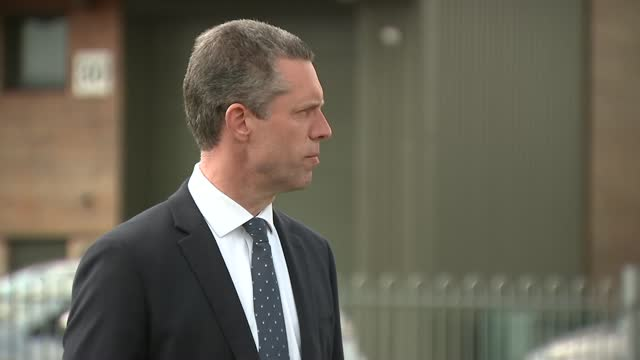 julia james murder: kent police press conference; england: kent: aylesham: ext assistant chief constable tom richards press conference sot. - crime and murder stock videos & royalty-free footage