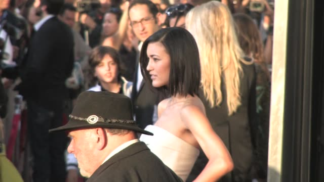 julia jones arrives at jonah hex premiere los angeles at the celebrity sightings in los angeles at los angeles ca - hex climbing equipment stock videos and b-roll footage