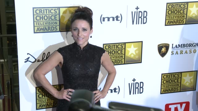 Julia LouisDreyfus at Broadcast Television Journalists Association's 3rd Annual Critics' Choice Television Awards on 6/10/2013 in Beverly Hills CA