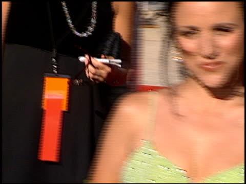 Julia LouisDreyfus at the 1996 Emmy arrivals at the Pasadena Civic Auditorium in Pasadena California on September 8 1996