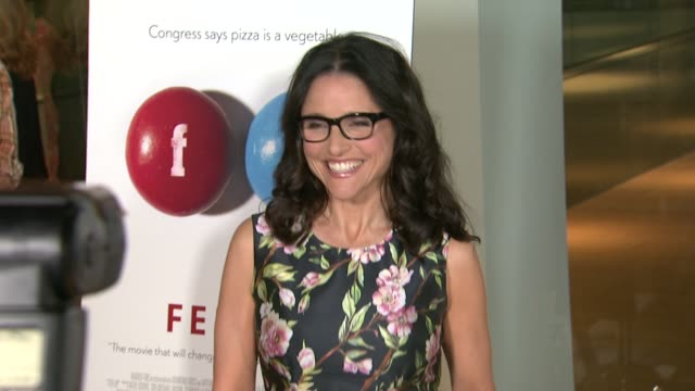 Julia LouisDreyfus at the Fed Up Los Angeles Premiere at Pacific Design Center on May 08 2014 in West Hollywood California