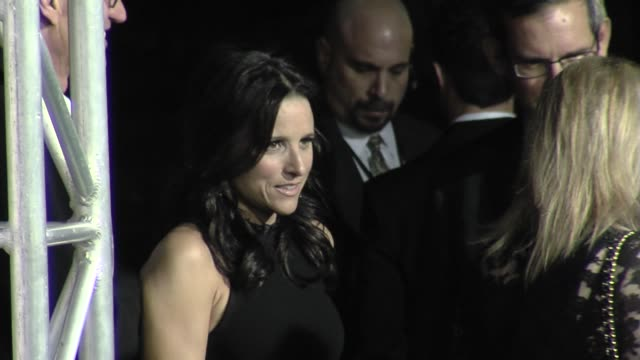 julia louis-dreyfus at the the 18th annual environmental media awards benefiting the environment at los angeles ca. - environmental media awards stock videos & royalty-free footage