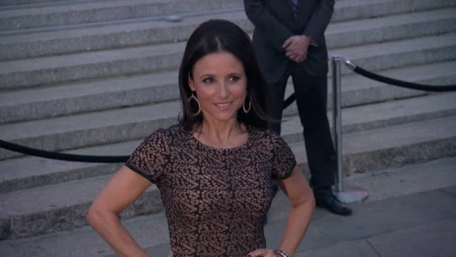 Julia LouisDreyfus at Vanity Fair Party 2012 Tribeca Film Festival on 4/17/2012 in New York NY United States