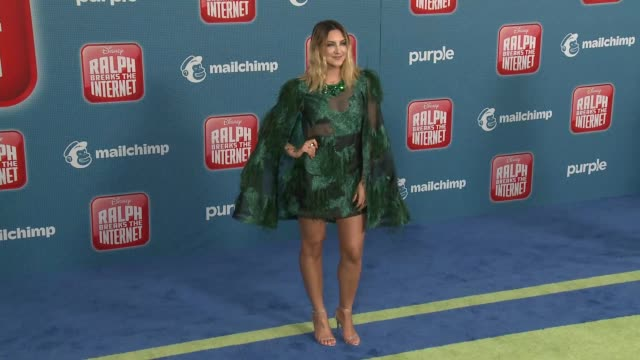 """julia michaels at the """"ralph breaks the internet"""" world premiere at the el capitan theatre on november 05, 2018 in hollywood, california. - el capitan theatre stock videos & royalty-free footage"""