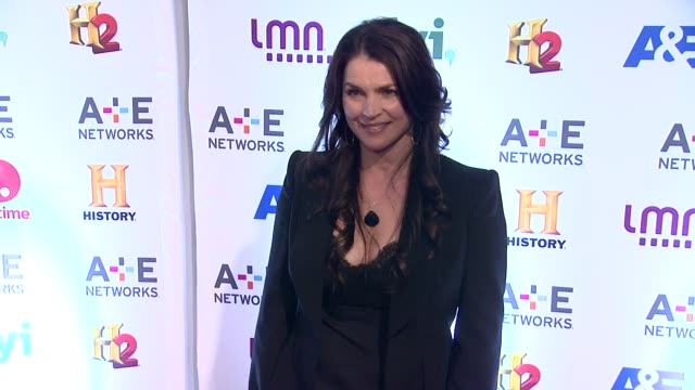Julia Ormond at 2014 AE Networks Upfront Arrivals at Park Avenue Armory on May 08 2014 in New York City