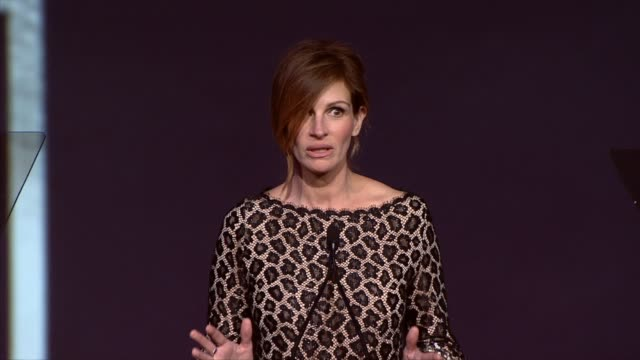 julia roberts at the 25th annual palm springs international film festival awards gala presented by cartier in palm springs, ca on 1/04/14 - cartier stock videos & royalty-free footage