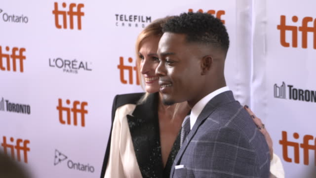 julia roberts, stephan james at ryerson theatre on september 07, 2018 in toronto, canada. - toronto international film festival stock videos & royalty-free footage