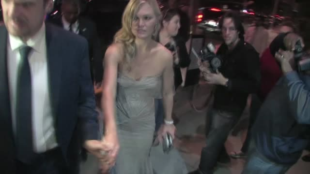 julia stiles arrives at jimmy fallon's emmy after party 2011 at trousdale in west hollywood - jimmy fallon stock videos and b-roll footage