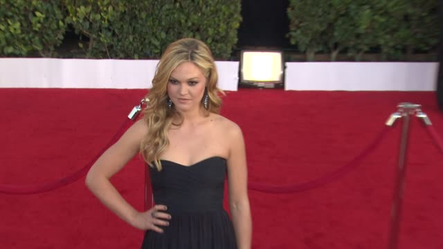 julia stiles at the 17th annual screen actors guild awards arrivals part 2 at los angeles ca - julia stiles stock videos and b-roll footage