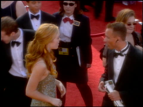 julia stiles at the 2001 academy awards at the shrine auditorium in los angeles california on march 25 2001 - julia stiles stock videos and b-roll footage