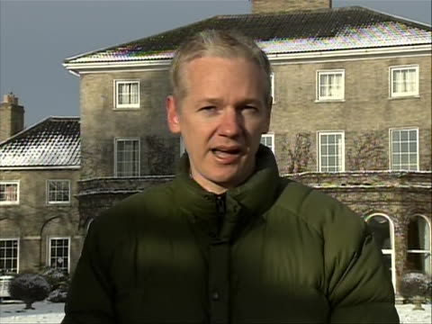 julian assange sot defending himself against rape allegations. assange is the founder of the whistleblower site wikileaks, and became the subject of... - crime or recreational drug or prison or legal trial stock videos & royalty-free footage