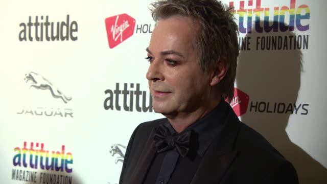 julian clary at the virgin holidays attitude awards powered by jaguar at the roundhouse on october 11, 2018 in london, england. - julian clary stock videos & royalty-free footage