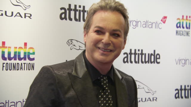vidéos et rushes de julian clary at virgin atlantic attitude awards powered by jaguar 2019 at the roundhouse camden at the roundhouse on october 9, 2019 in london,... - julian clary