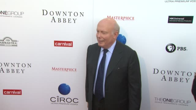 julian fellowes at an evening with downton abbey - talent panel q&a on 6/10/2013 in north hollywood, ca. - julian fellowes stock videos & royalty-free footage