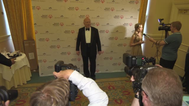 julian fellowes at 'downton abbey' gala dinner at the landmark hotel on june 24, 2015 in london, england. - julian fellowes stock videos & royalty-free footage