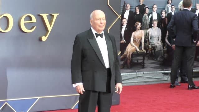 julian fellowes at 'downton abbey' world premiere at cineworld leicester square on september 9, 2019 in london, england. - julian fellowes stock videos & royalty-free footage