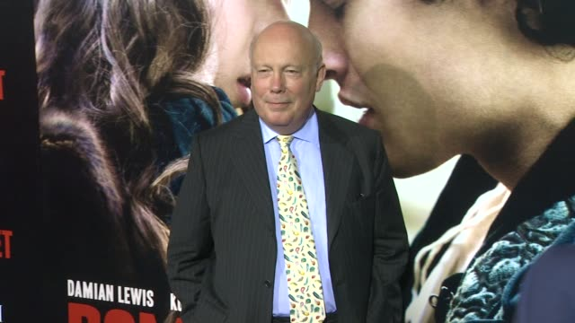 julian fellowes at romeo & juliet los angeles premiere on 9/24/2013 in hollywood, ca. - julian fellowes stock videos & royalty-free footage
