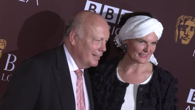 julian fellowes at the 2015 bafta los angeles tv tea at sls hotel on september 19, 2015 in beverly hills, california. - julian fellowes stock videos & royalty-free footage
