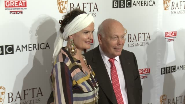 julian fellowes at the bbc america bafta los angeles tv tea party 2016 at the london hotel on september 17, 2016 in west hollywood, california. - julian fellowes stock videos & royalty-free footage