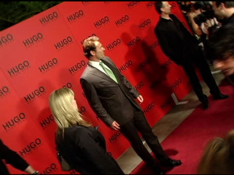 julian mcmahon at the bash and celebration of hugo boss' fall winter 2005 collections at the beverly hilton in beverly hills, california on march 15,... - hugo boss stock-videos und b-roll-filmmaterial