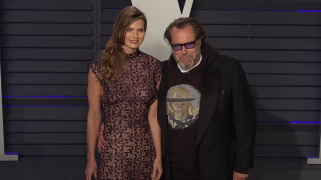 julian schnabel at 2019 vanity fair oscar party hosted by radhika jones at wallis annenberg center for the performing arts on february 24, 2019 in... - vanity fair oscar party stock videos & royalty-free footage