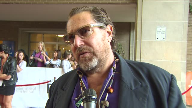 Julian Schnabel on what it means to have the film featured at TIFF at the 2010 Toronto International Film Festival 'Miral' at Toronto ON