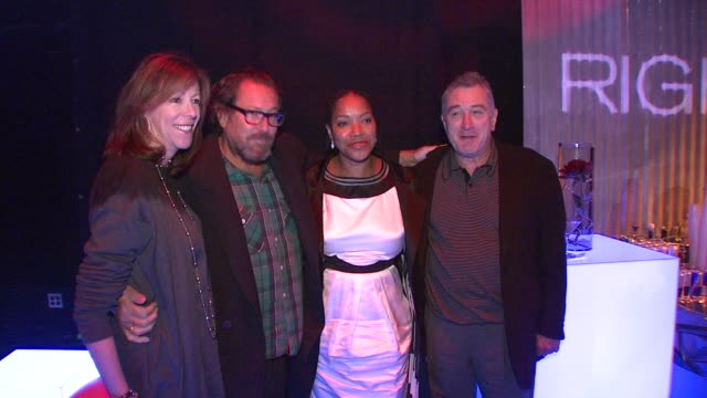 Julian Schnabel Robert De Niro Grace Hightower at the Righteous Kill Premiere After Party at New York NY