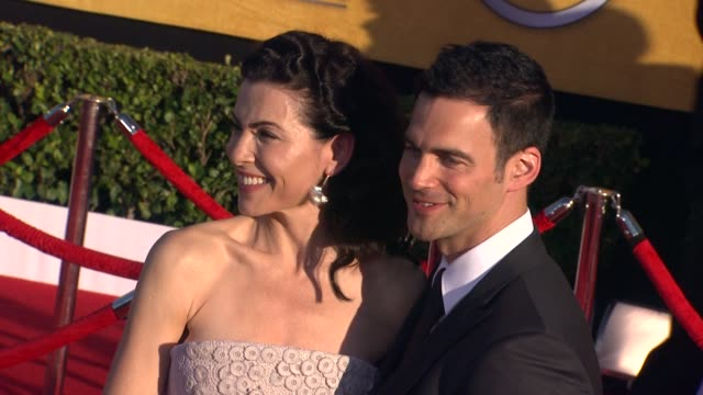 Julianna Margulies and Keith Lieberthal at 18th Annual Screen Actors Guild Awards Arrivals on 1/29/2012 in Los Angeles CA