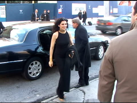 julianna margulies arrives at the lincoln center for the metropolitan opera opening night gala in new york 03/24/11 - the center stock videos & royalty-free footage