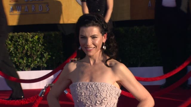 Julianna Margulies at 18th Annual Screen Actors Guild Awards Arrivals on 1/29/2012 in Los Angeles CA