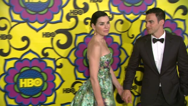 julianna margulies at hbo's post 64th primetime emmy awards reception on 9/23/2012 in west hollywood ca - julianna margulies stock videos and b-roll footage
