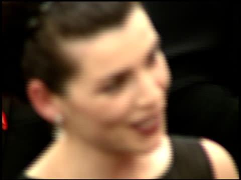 julianna margulies at the 1997 emmy awards arrivals at the pasadena civic auditorium in pasadena, california on september 14, 1997. - パサディナ公会堂点の映像素材/bロール