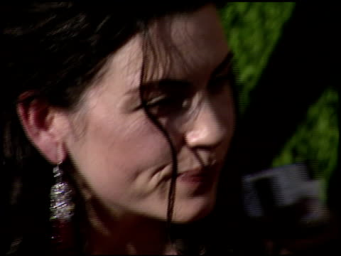 julianna margulies at the 1999 emmy awards at the shrine auditorium in los angeles california on september 12 1999 - julianna margulies stock videos and b-roll footage