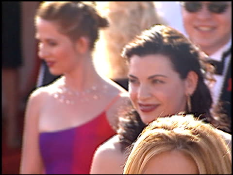 julianna margulies at the 2000 emmy awards at the shrine auditorium in los angeles california on september 10 2000 - julianna margulies stock videos and b-roll footage