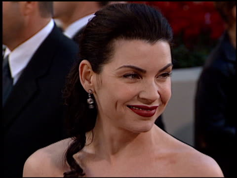 julianna margulies at the 2002 golden globe awards at the beverly hilton in beverly hills california on january 20 2002 - julianna margulies stock videos and b-roll footage