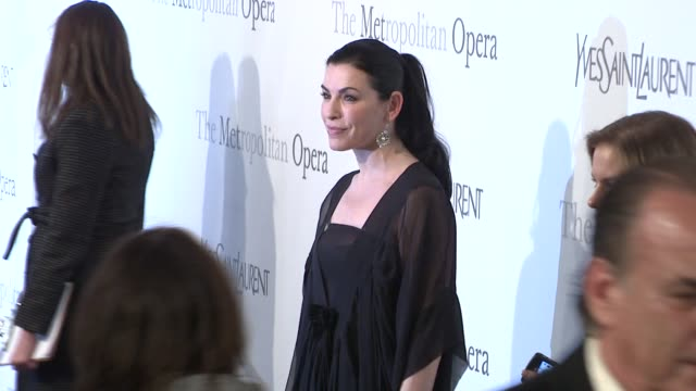 Julianna Margulies at the The Metropolitan Opera's 125th Anniversary Gala at New York NY