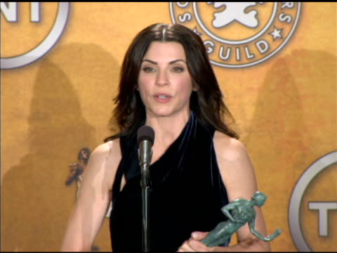 Julianna Margulies on her family at the 16th Annual Screen Actors Guild Awards Press Room at Los Angeles CA
