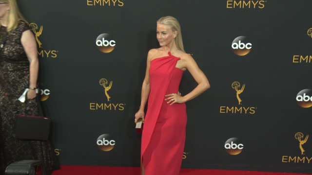 julianne hough at the 68th annual primetime emmy awards - arrivals at microsoft theater on september 18, 2016 in los angeles, california. - annual primetime emmy awards stock videos & royalty-free footage