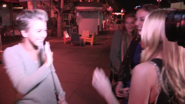 julianne hough bruce hough at ulysses voyage in los angeles in celebrity sightings in los angeles - bruce stock videos & royalty-free footage