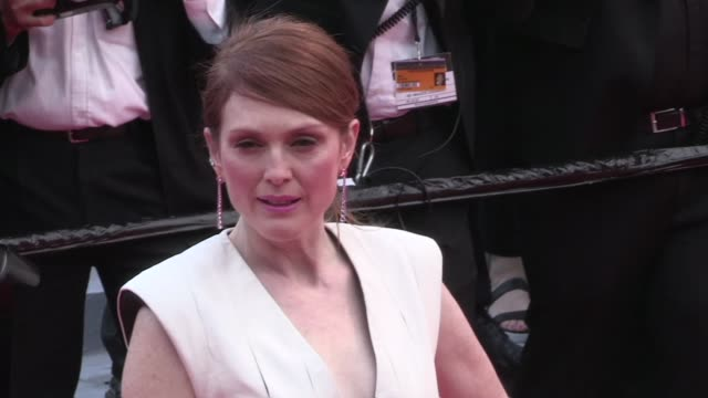 Julianne Moore and more on the red carpet for the Premiere of Money Monster at the Cannes Film Festival 2016 Thursday 12th May 2016 Cannes France