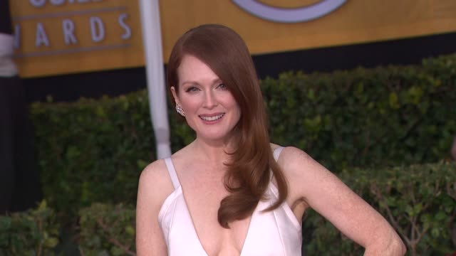 Julianne Moore at 19th Annual Screen Actors Guild Awards Arrivals on 1/27/13 in Los Angeles CA