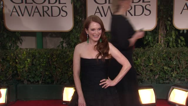 Julianne Moore at 69th Annual Golden Globe Awards Arrivals on January 15 2012 in Beverly Hills California